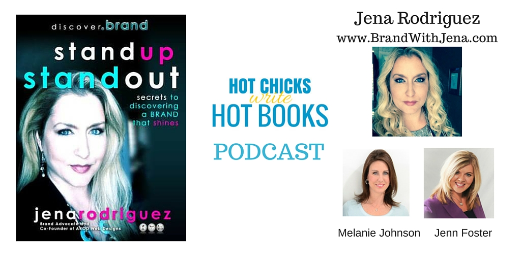 Podcast Interview with Jena Rodriguez – Branding YOU!