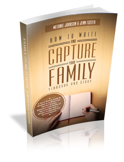 New Book Release – Story Starter #3 – How to Write and Capture Your Family Yearbook and Story