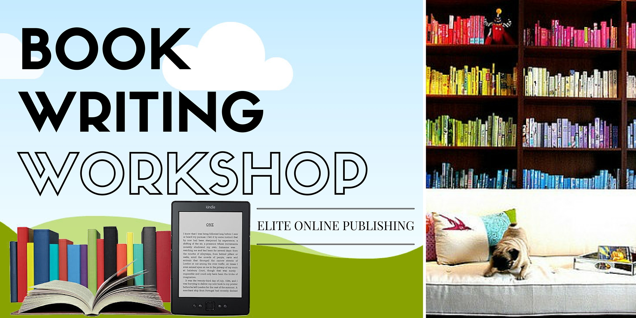 BOOK WRITING WORKSHOP in TX and UT