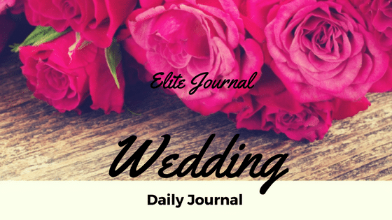 Wedding Daily Journal