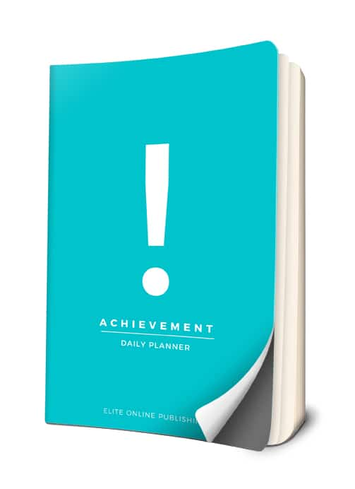 Launching Today for only $9.99 – New Achievement Daily Planner