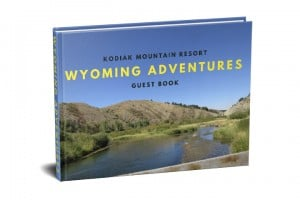 Wyoming Travel Guest Book
