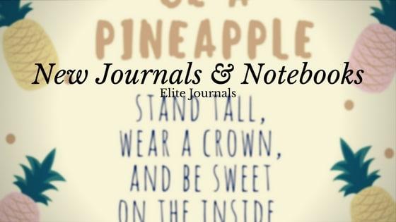 New Journals & Notebooks on Amazon