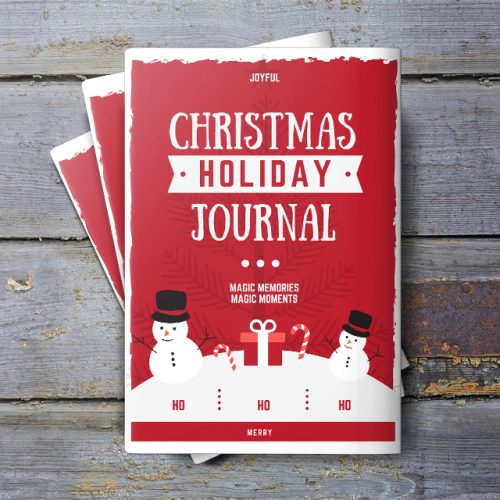 Christmas Holiday Daily Journal