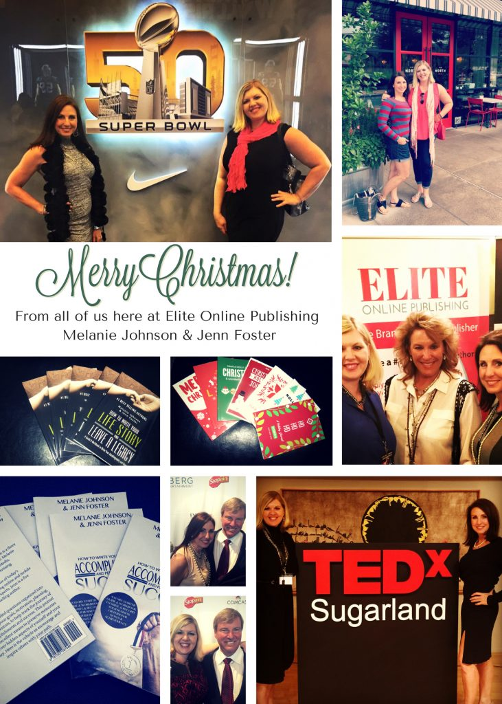 From all of us here at Elite Online Publishing, Melanie Johnson