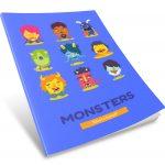 Blue Monster Sketchbook