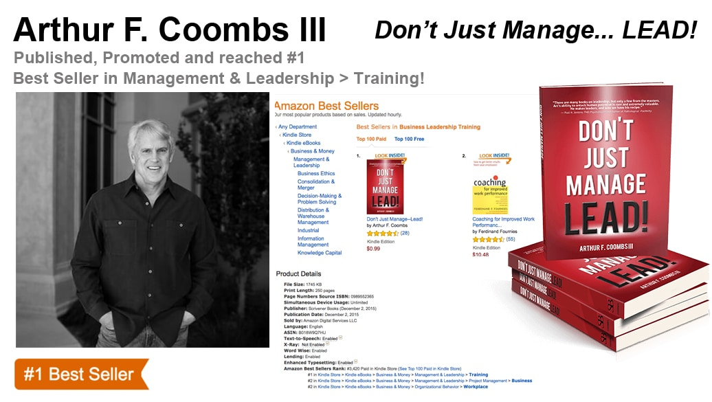 Arthur F. Coombs III Hits #1 Amazon Best-Seller List