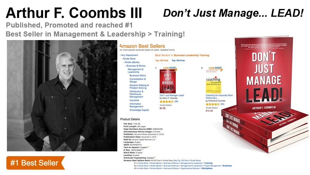 Arthur F. Coombs III Hits #1 Amazon Best-Seller List