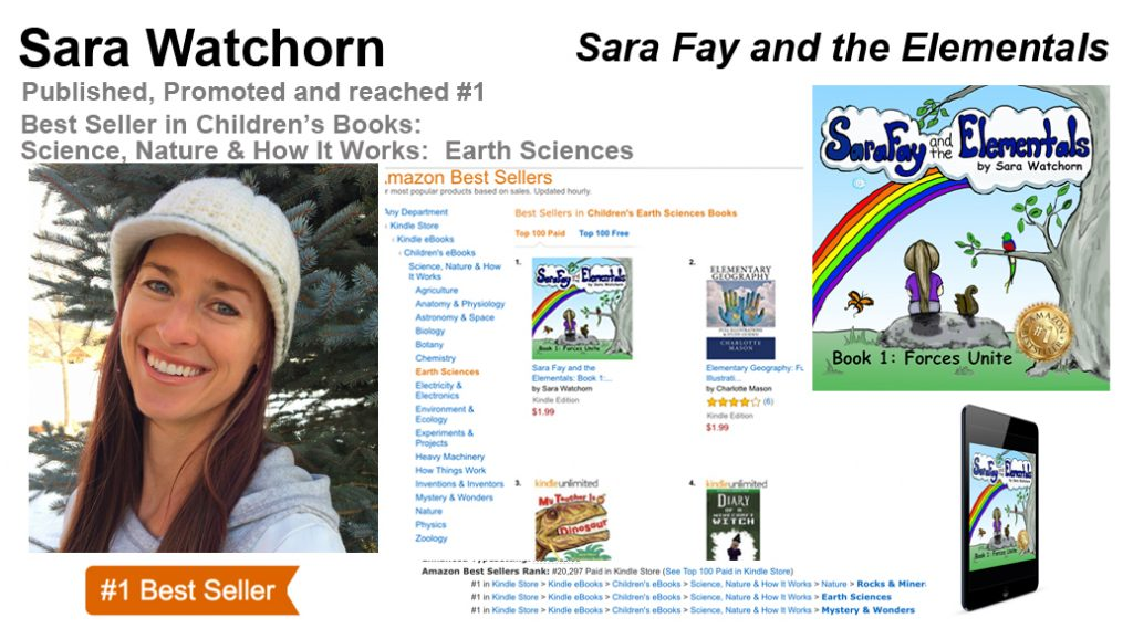 Sara Watchorn #1 Best Seller