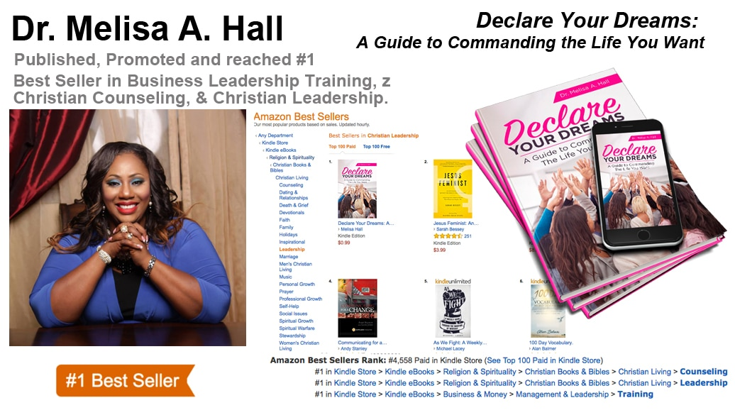 Melisa Hall Hits #1 Amazon Best-Seller List