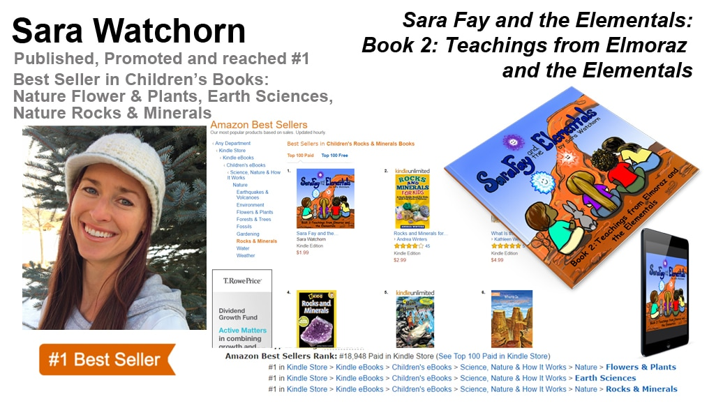 Sara Watchorn Two-Time #1 Amazon Best-Seller
