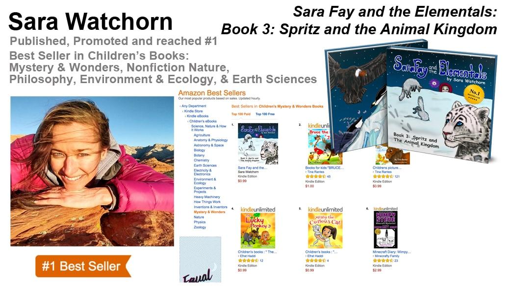 Sara Watchorn Three-Time #1 Best-Seller