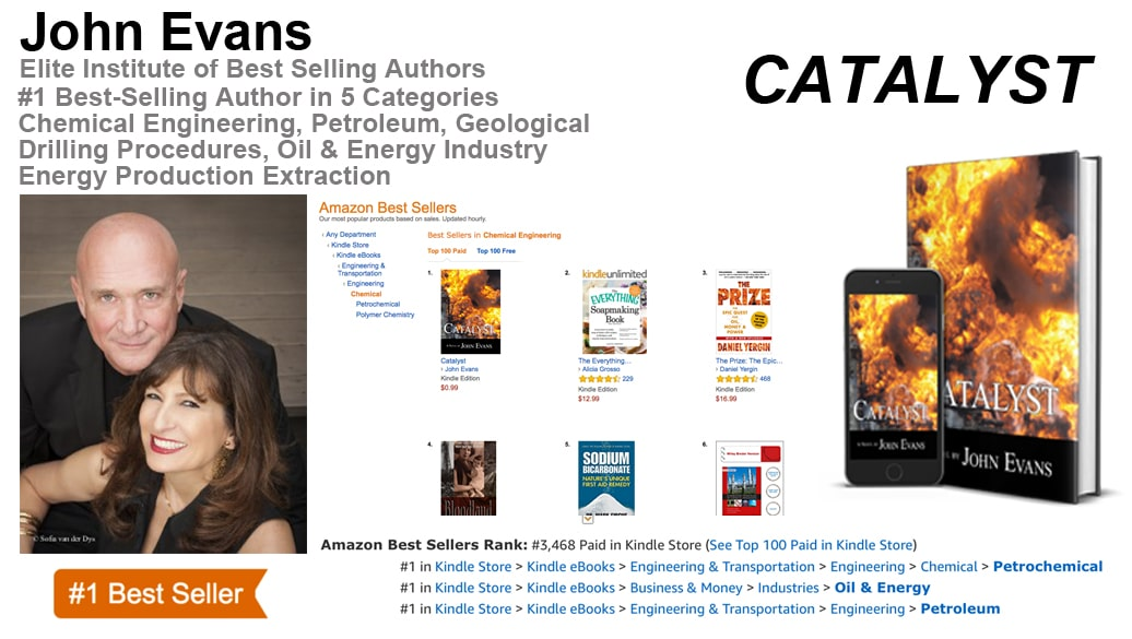 "John Evans Hits #1 Amazon.com Best-Seller List in Five Categories with ""Catalyst"""