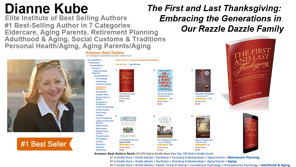 Dianne Kube Hits #1 in Seven Categories With Her New Book