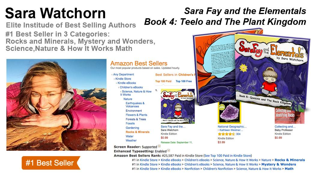 Sara Watchorn is a Five-Time Best Selling Author