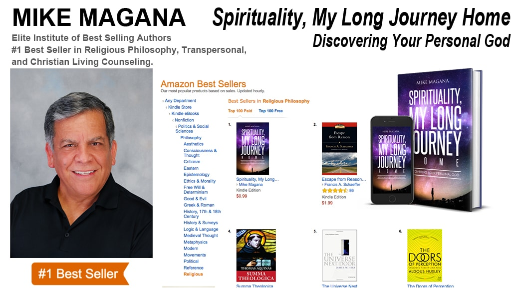 Author Mike Magana, Hits #1 Amazon.com best-seller list