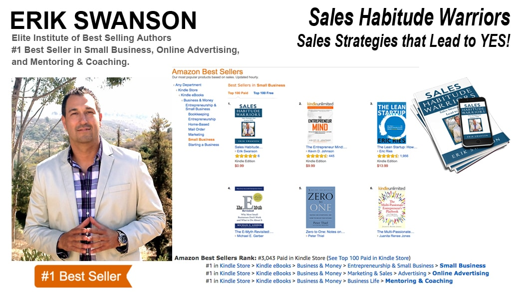 Erik Swanson Hits Five-Time #1 Amazon Best-Seller List