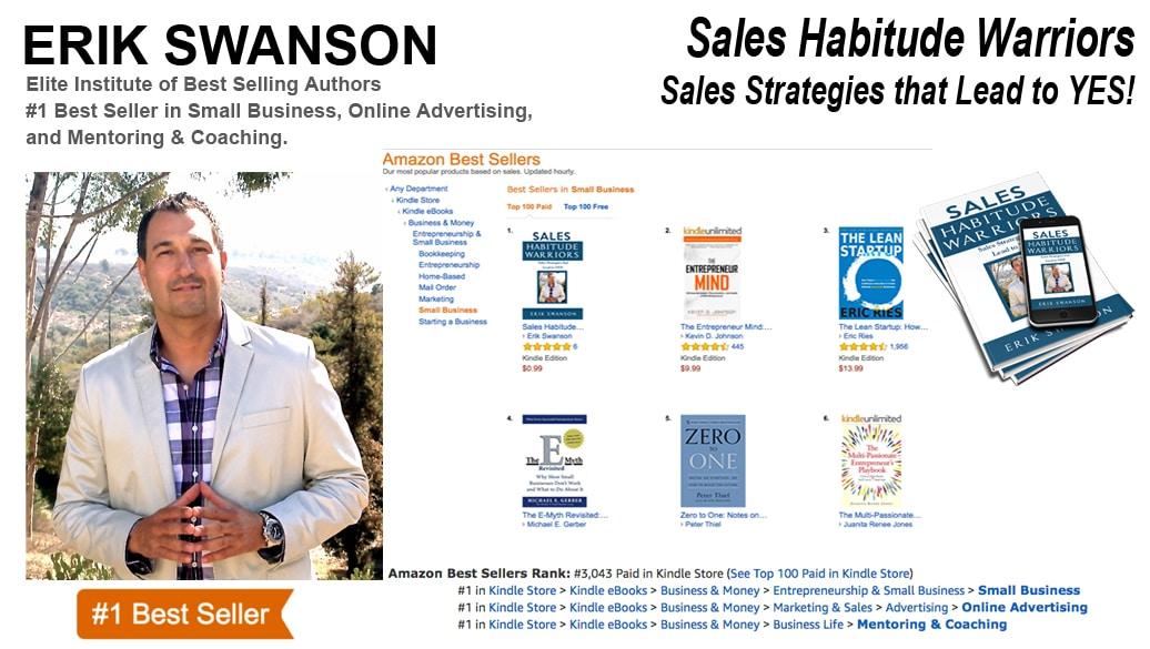 Erik Swanson Hits Five-Time #1 Amazon Best-Seller List