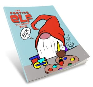 The Farting Elf Coloring Book