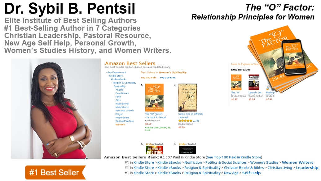 "The ""O"" Factor by Sybil Pentsil Hits #1 on Amazon!"