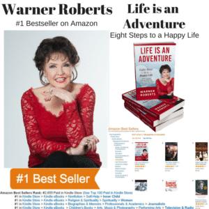 Warner Roberts -Life is an Adventure -Best Seller