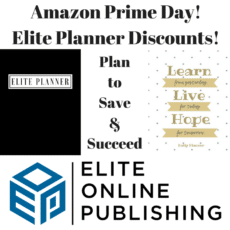 Amazon Prime Day is Coming Monday & So Are Our New Elite Planners!
