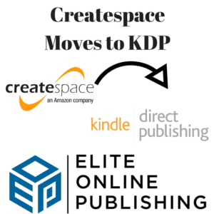 Createspace Moves to KDP