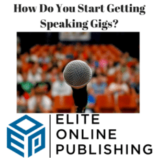 How Do You Start Getting Speaking Gigs?