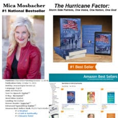 "Mica Mosbacher Hits #1 Bestseller with Her Book ""The Hurricane Factor"""