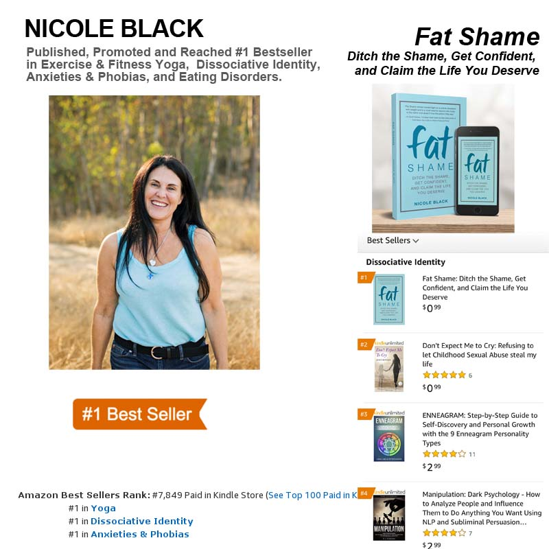 Author Nicole Black hits #1 Bestseller on Amazon