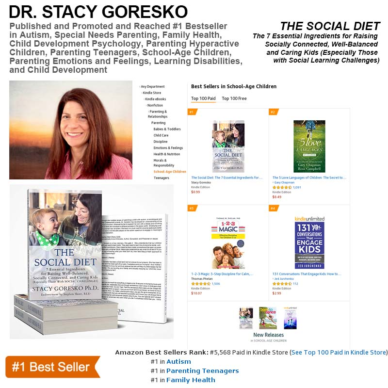 Stacy Goresko Ph.D. Hits #1 Bestseller List on Amazon