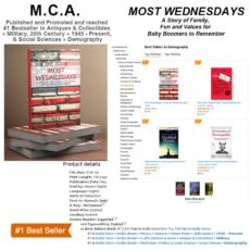 New #1 National Bestselling Book – Most Wednesdays