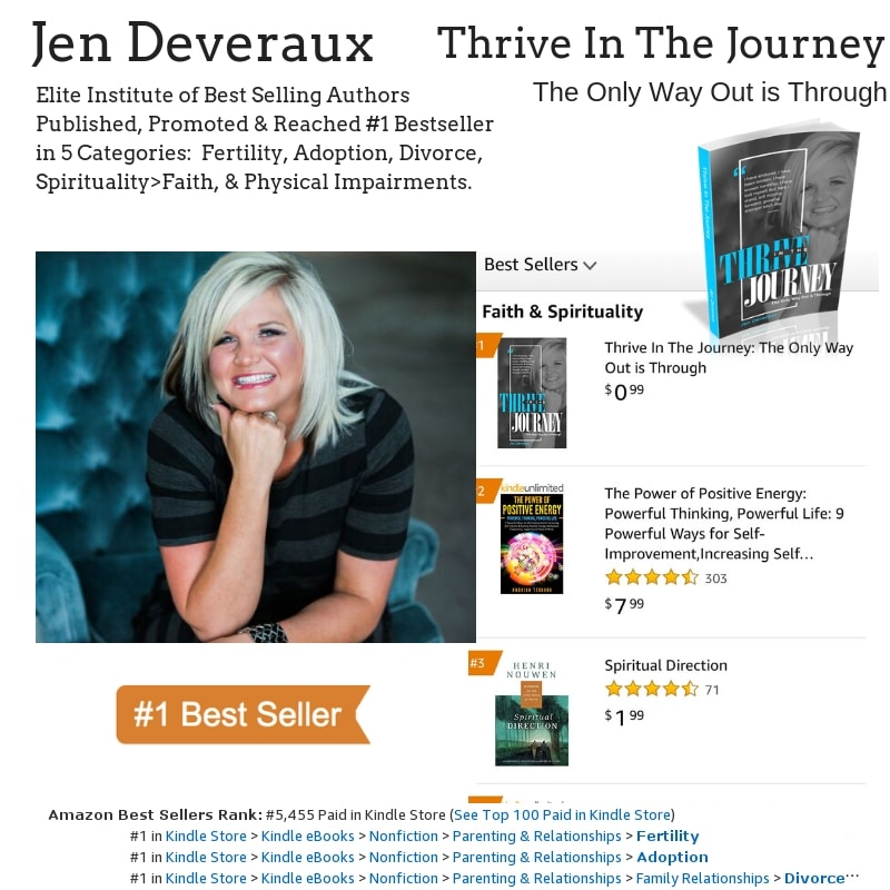 Author Jen Deveraux hits #1 Bestseller on Amazon