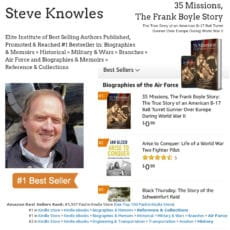 Author Steve Knowles Hits #1 Bestseller List on Amazon