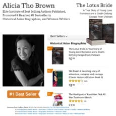 Author Alicia Tho Brown Hits #1 Bestseller on Amazon