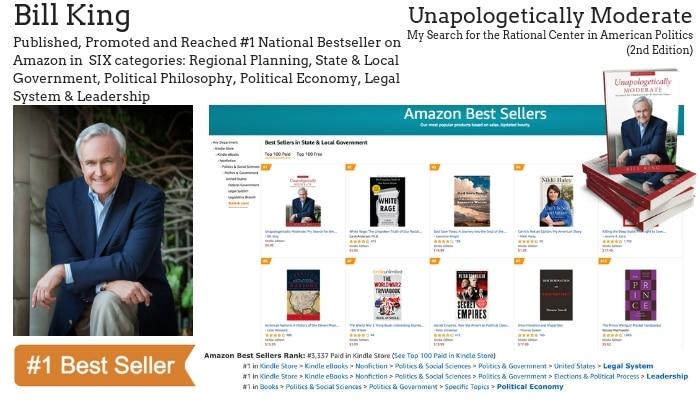 Author Bill King Hits #1 Bestseller | Elite Online Publishing