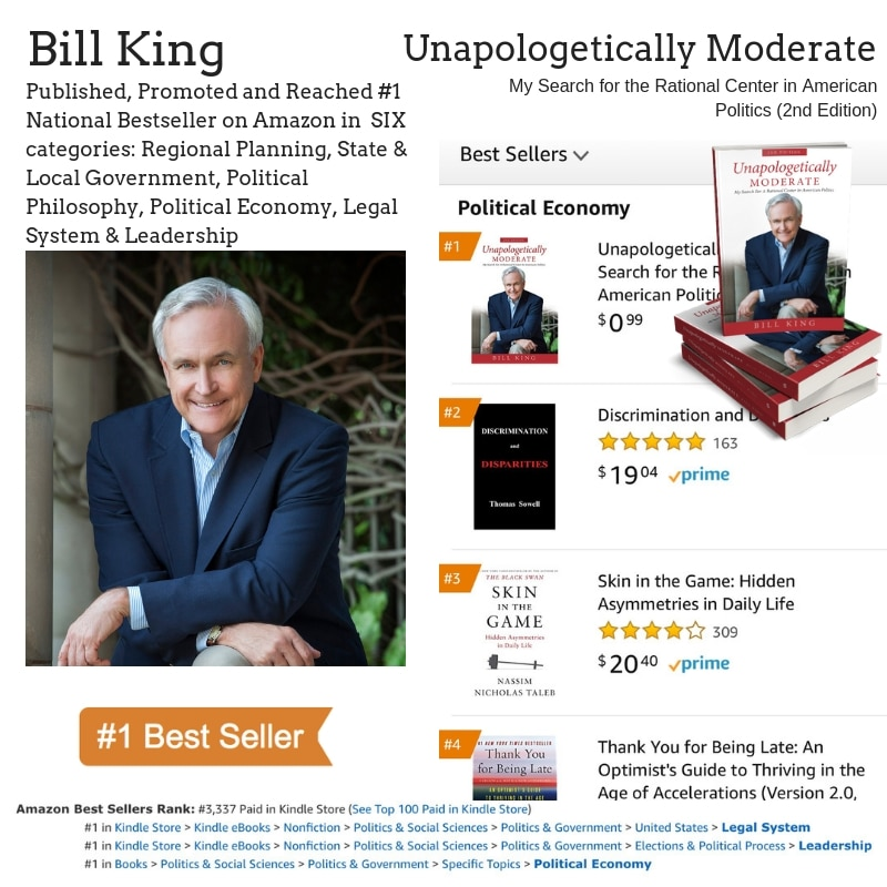 Author Bill King Hits #1 Bestseller on Amazon