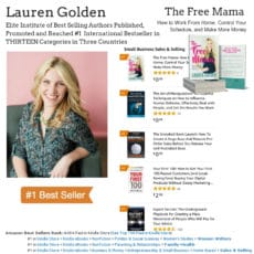 Author Lauren Golden Hits #1 Bestseller on Amazon
