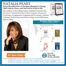 Author Natalia Peart PhD Hits #1 Bestseller on Amazon