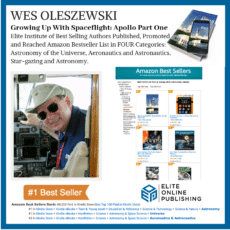 Author Wes Oleszewski Hits #1 Bestseller with Apollo Book
