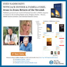 Author Syed Nadim Rizvi Hits #1 National Bestseller with Jesus to Jesus: Return of The Messiah