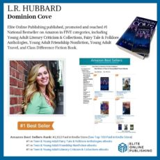 Author L.R. Hubbard Hits #1 National Bestseller with Dominion Cove
