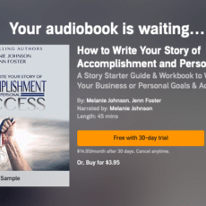 How to Create a Custom Audible Trial Page with Your Own Book