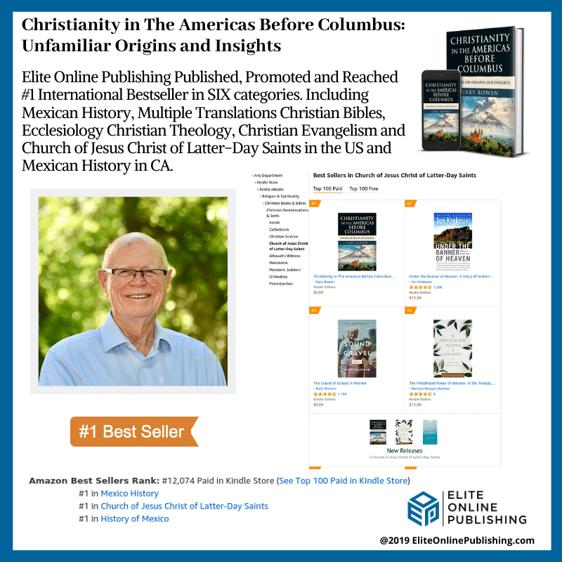 Gary Bowen Hits #1 International Bestseller with Christianity in The Americas