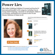 "Author J.L. Phillips Hits #1 International Bestseller With New Book ""Power Lies"""