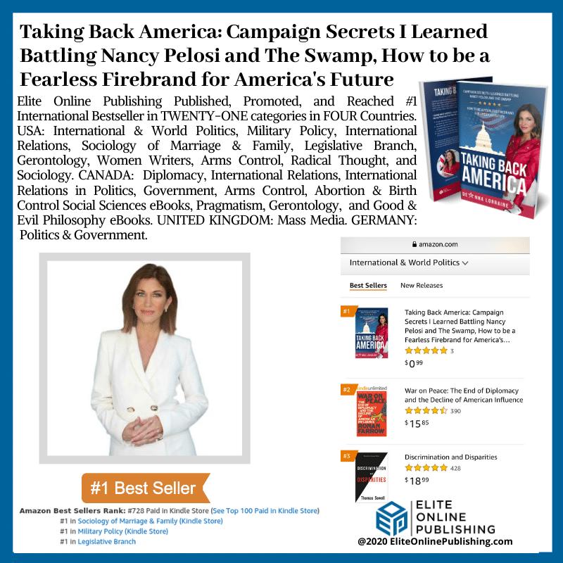 Author DeAnna Lorraine Hit #1 International Bestseller With New Book