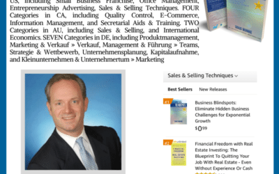 Author Doug Winnie Hit #1 International Bestseller on Amazon with New Book Business Blindspots
