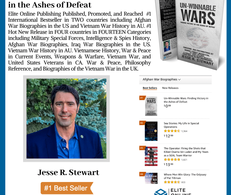 Author Jesse R. Stewart Hit #1 International Bestseller