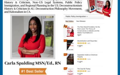 Author Carla Spalding MSN/Ed., RN is a #1 International Bestseller