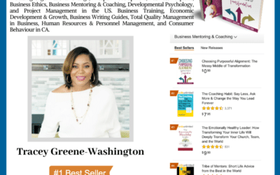 Tracey Greene-Washington Hit #1 International Bestseller